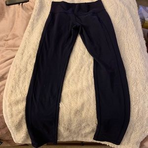 Lululemon Navy straight leg leggings